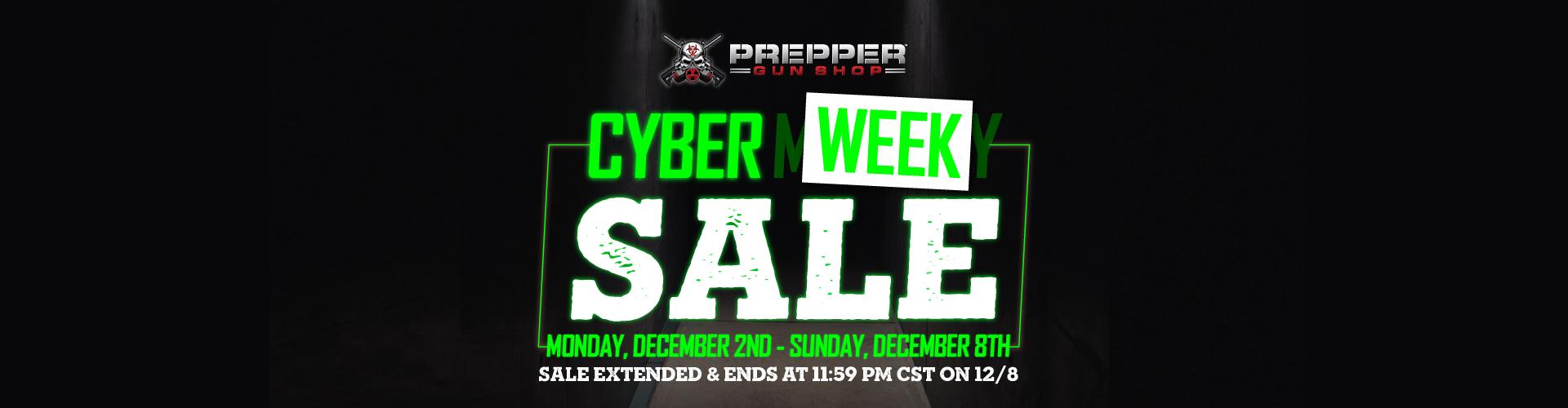 Cyber Week Sale 2019!