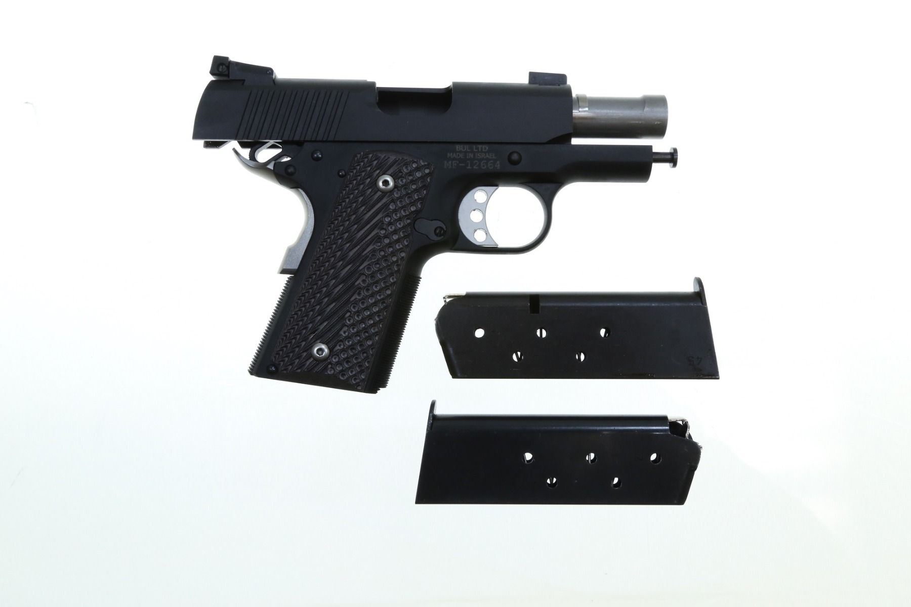 BUL Classic Ultra Compact .45ACP 1911 Pistol Blued Aluminum Frame