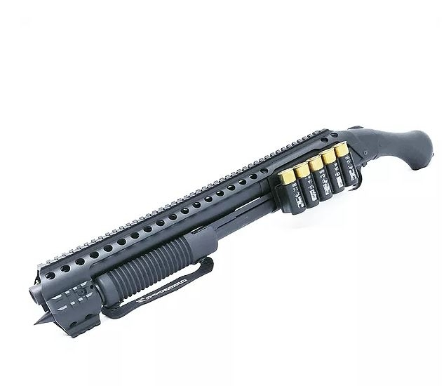 Black Aces Tactical Shockwave Quad Rail W/ Side Shell