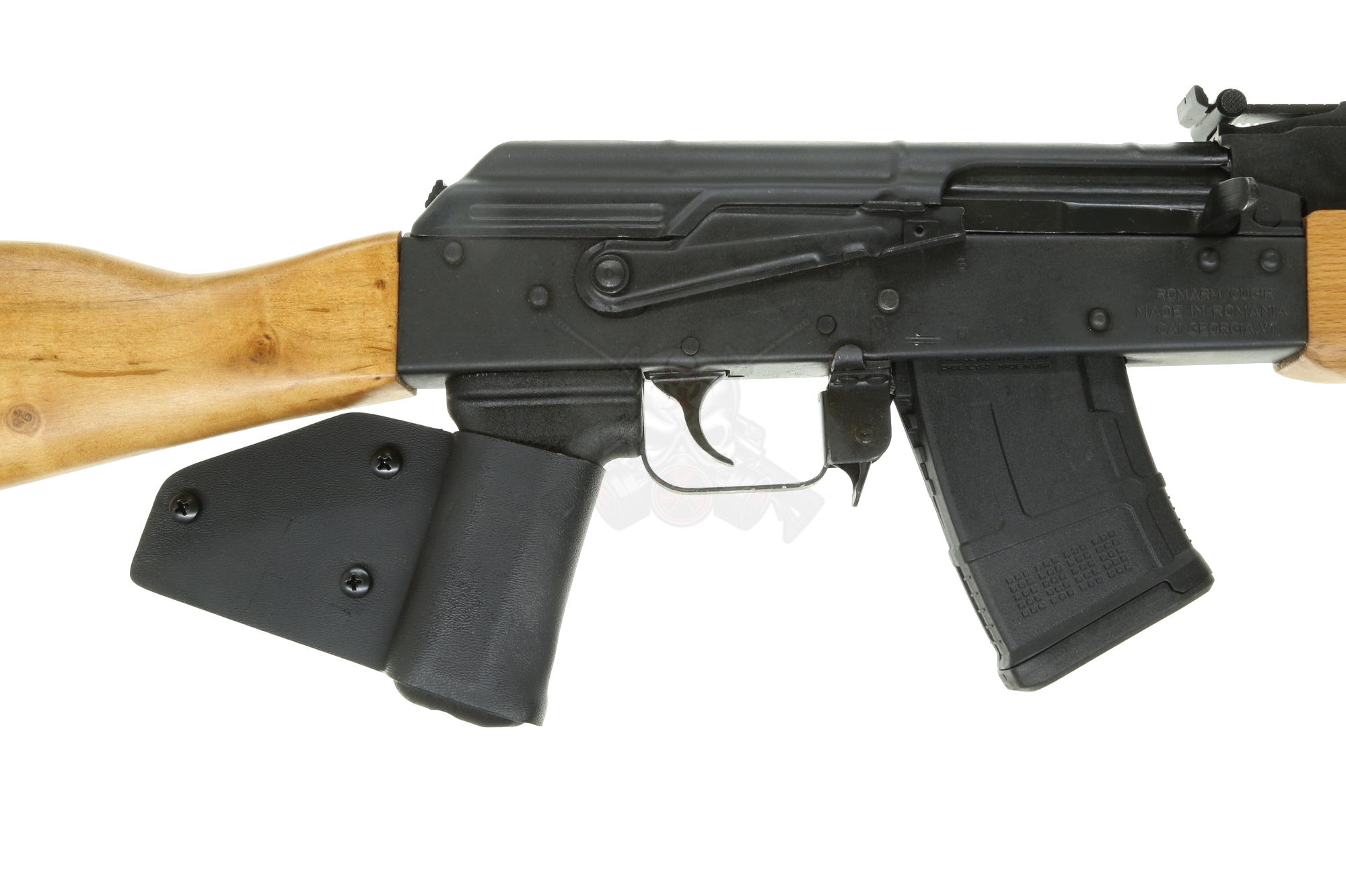 Century Arms WASR10 CA LEGAL AK47 Rifle 7 62x39 Wood Stock & installed Grip  Wrap (1) 10rd mag - FEATURELESS