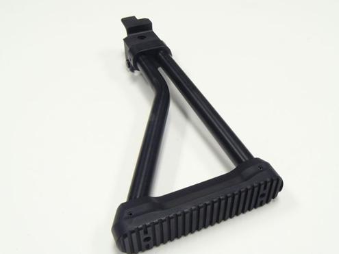 CNC WARRIOR STOCK - 25362 AK/Saiga Stamped 8'' LH Sidefolder - Tubular  stock w/ adapter