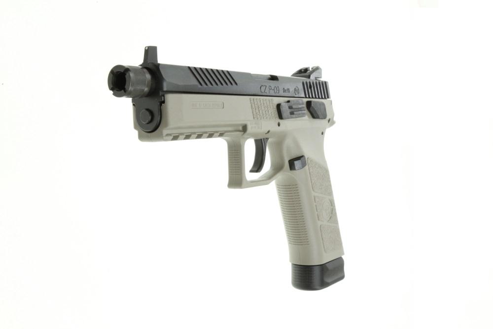 CZ P-09 9mm URBAN GREY DA/SA full size polymer frame pistol 5.15 ...
