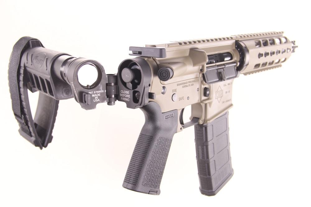 Diamondback DB15 AR15 Pistol 5 56NATO 7 5
