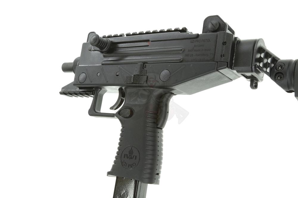 IWI UZI PRO Pistol 9mm Pistol w/ folding brace (1) 20rd & (1) 25rd mag  UPP9SB