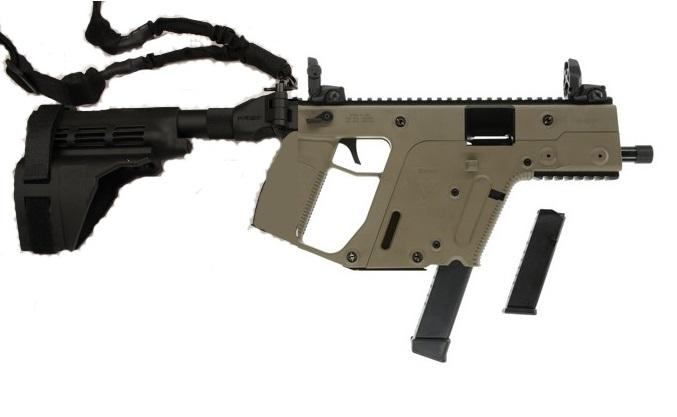 kriss vector sdp gen2 super v pistol 9mm fde kriss m4 adapter kak rh preppergunshop com MTAR Assault Rifle Futuristic Assault Rifles