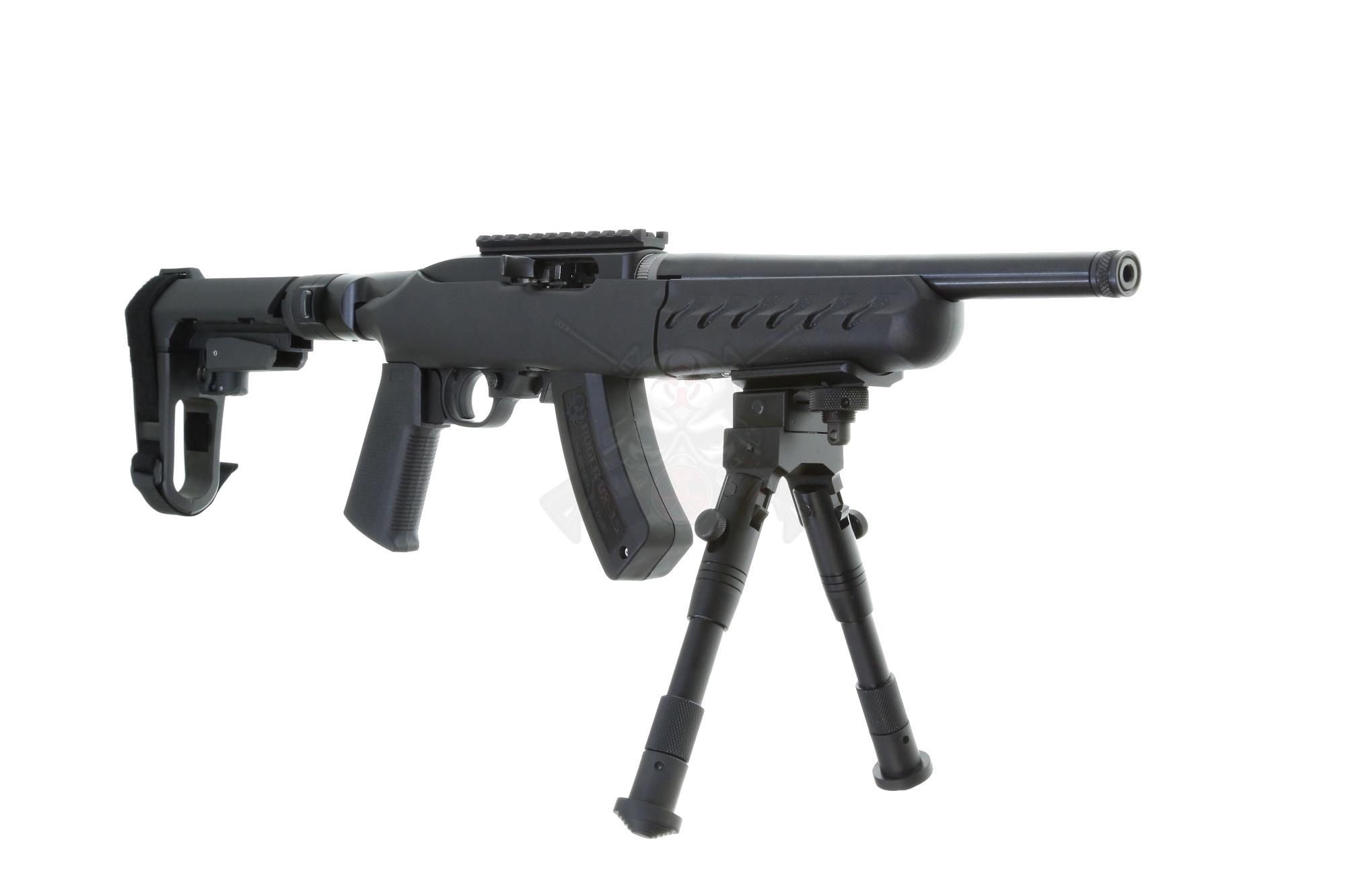 Ruger 1022 22lr Charger 10 Takedown Pistol Side Folding Sba3 Brace