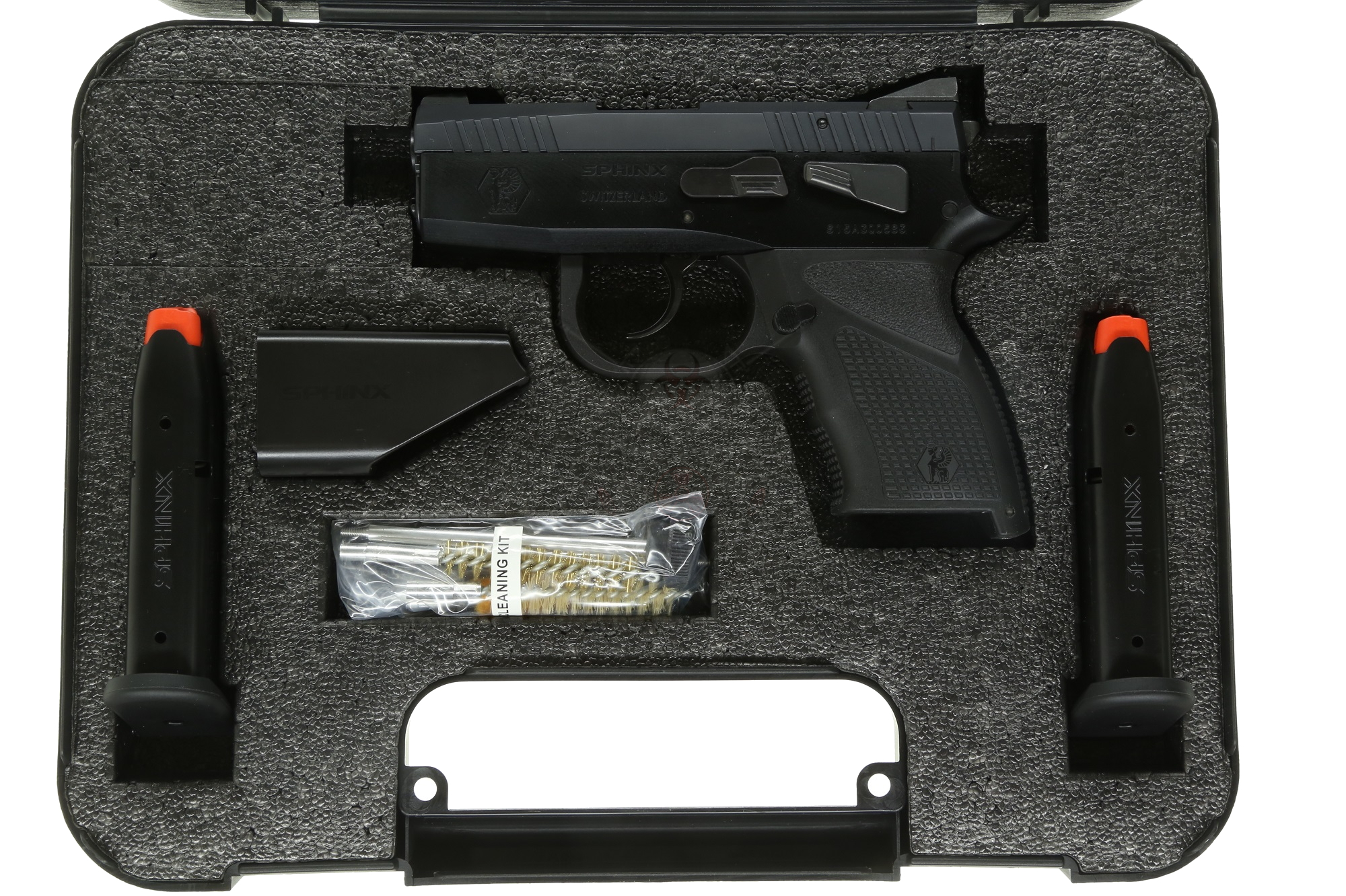 SPHINX SDP SUBCOMPACT ALPHA Black 9mm Pistol 3 13
