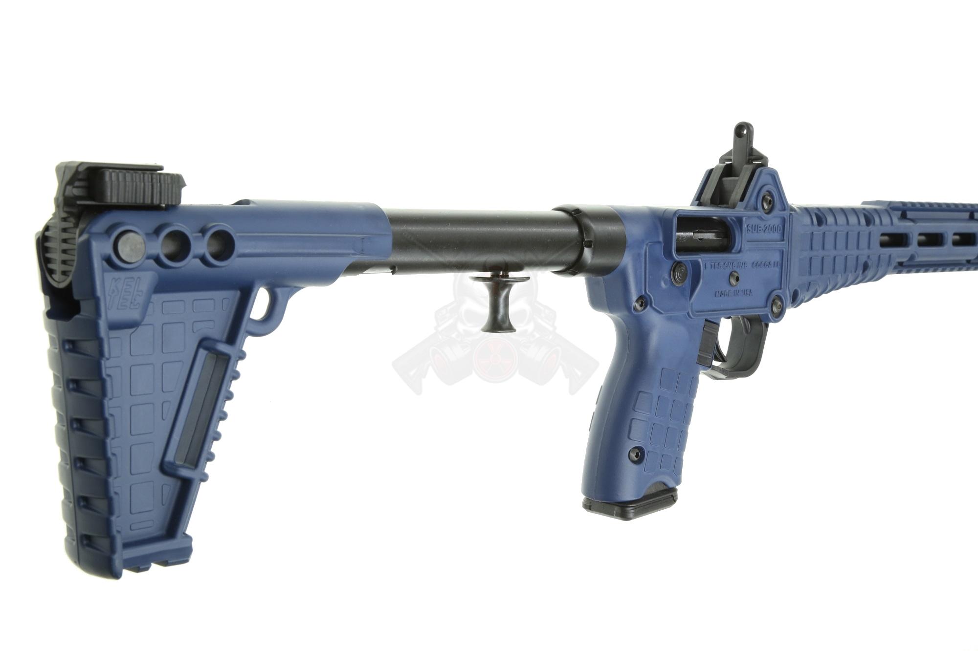 KEL-TEC SUB2000 9MM GLOCK MAG BLACK / NAVY BLUE 17RD GEN 2