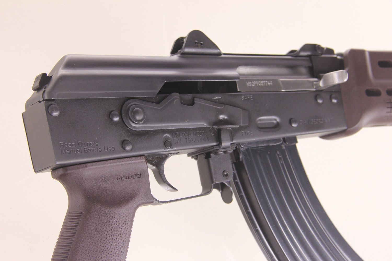 PAP M92 Plum Manticore Forearm U0026 Krink Brake W/ Magpul Grip (2) 30rd Mags    Russian Plum