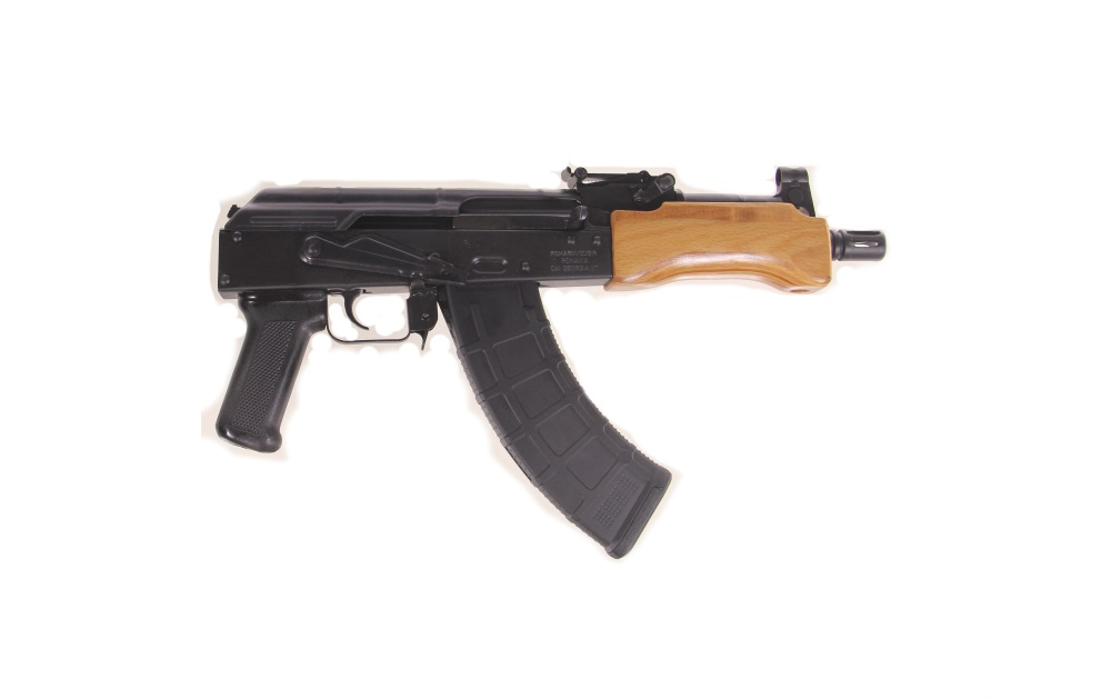 century arms imported romanian mini draco ak pistol 7. Black Bedroom Furniture Sets. Home Design Ideas