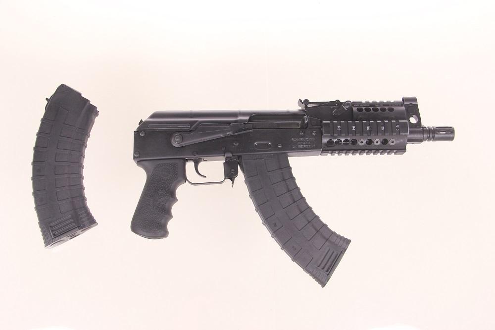 prepper custom romanian mini draco ak pistol w. Black Bedroom Furniture Sets. Home Design Ideas