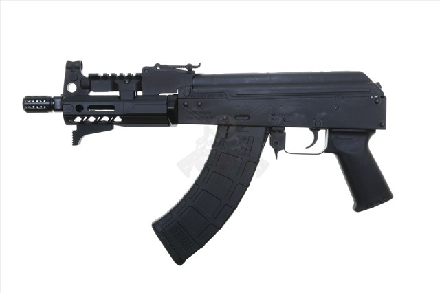 Century Mini Draco 7 62x39 AK-47 Pistol with SLR Rifleworks Handguard  Handstop Magpul Grip Magpul 30rd PMAG and Tromix Charging Handle - SALE!