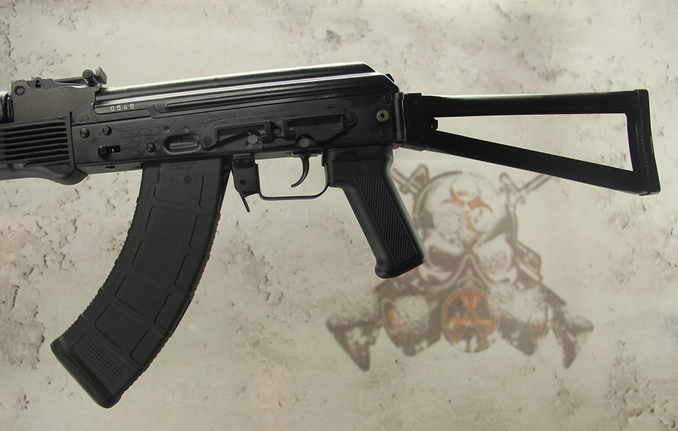ARSENAL SLR107-34 Stamped 7 62x39 AK-47 rifle metal folding stock - (5)  30rd Magpul AK PMAGS & QUALITY CONTROL INSPECTED !!!