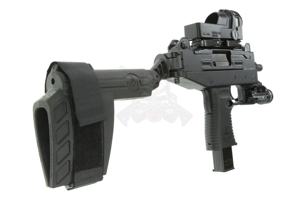 UZI PRO Pistol 9mm w/ folding brace, Mepro M21 T & Streamlight TLR-1 HL 630  Lumen light UPP9SB